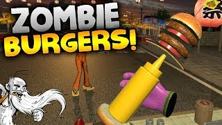"Dead Hungry VR Gameplay - ""ZOMBIE BURGER TRUCK!!!"" HTC Vive Virtual Reality Let"