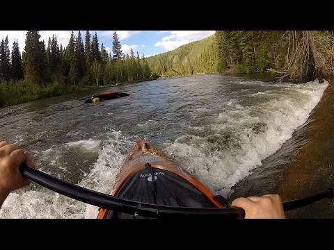 Dangerous Kayaking Accident on Klondike River in Yukon, Canada