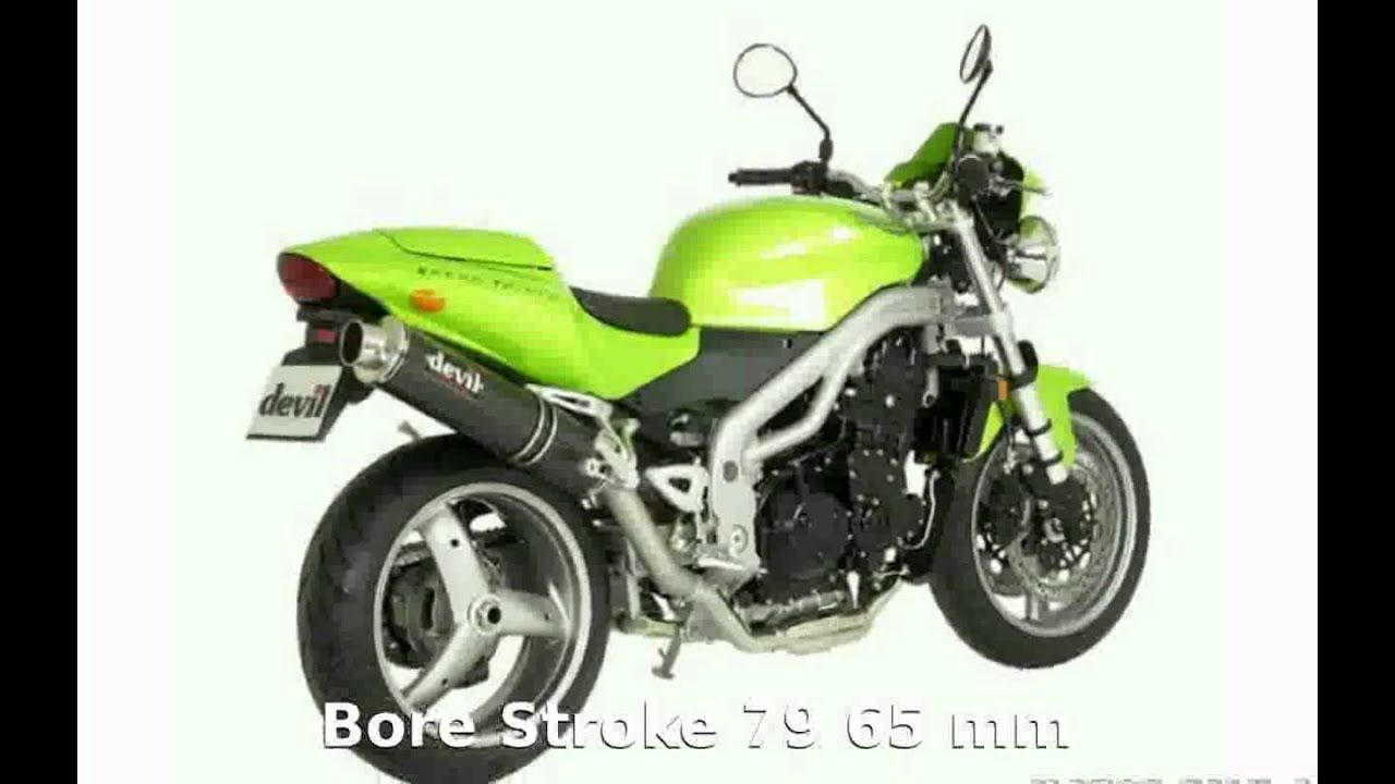 Triumph Speed Triple 955i Specification And Details Youtube
