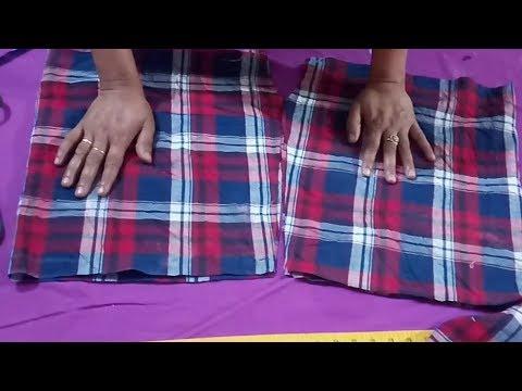 Gents Underwear (Cutting) \ आदमियों के अंडरवियर आसानी से काटना सीखें हिंदी में