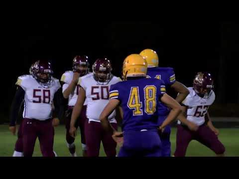 Winslow vs Blue Ridge High School Football Full Game Bulldogs vs Yellow Jackets