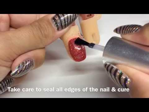 How to create Rockstar nails | Magpie Glitter & Gel Polish