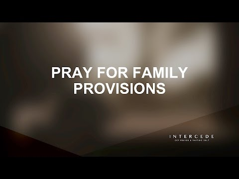 P&F 2017 - Day 3 Pray For Family Provisions - Edric Mendoza