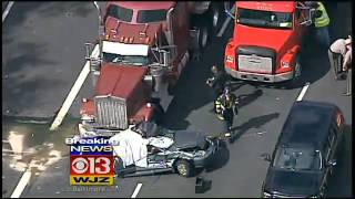 Lanes Reopen After Fatal Beltway Crash At Belair Road Snarls Traffic