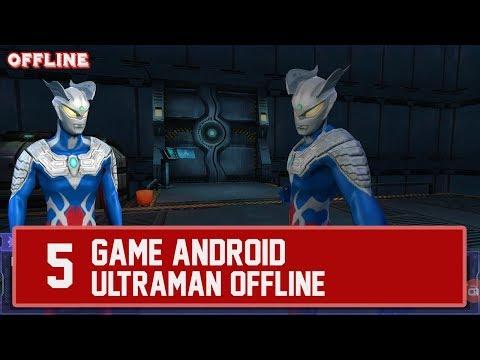 5 Game Android  ULTRAMAN  OFFLINE Dan Paling Seru Buat Dimainkan