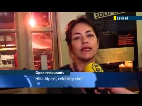 Open Restaurants: Media Piece from JN1 - Tel Aviv, 2014