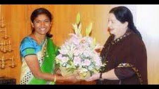 AIADMK MP Sathyabama threatens to kill her husband