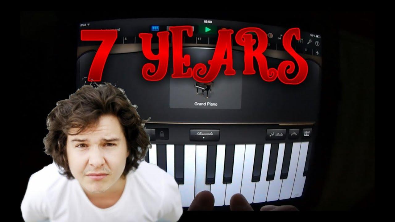 Piano Garage Band : Lukas graham years garageband tutorial youtube