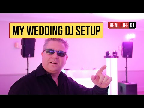 Wedding DJ Setup Equipment Tour 2019 MOBILE DJ WATCH THIS!.. Mobile DJ Lighting Setup