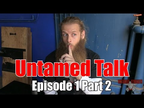 Untamed Talk : Warm Up Sets, Knee Pain, Round back Deadlifts