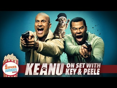 Exclusive Set Visit to Key amp Peele39s Keanu Poster