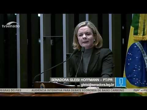 Gleisi: Folha de S.Paulo precisa pedir desculpas a Lula