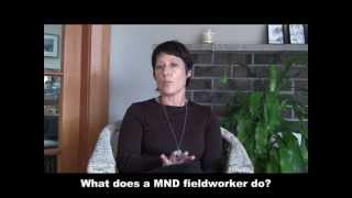 Supporting people with MND - fieldworker service