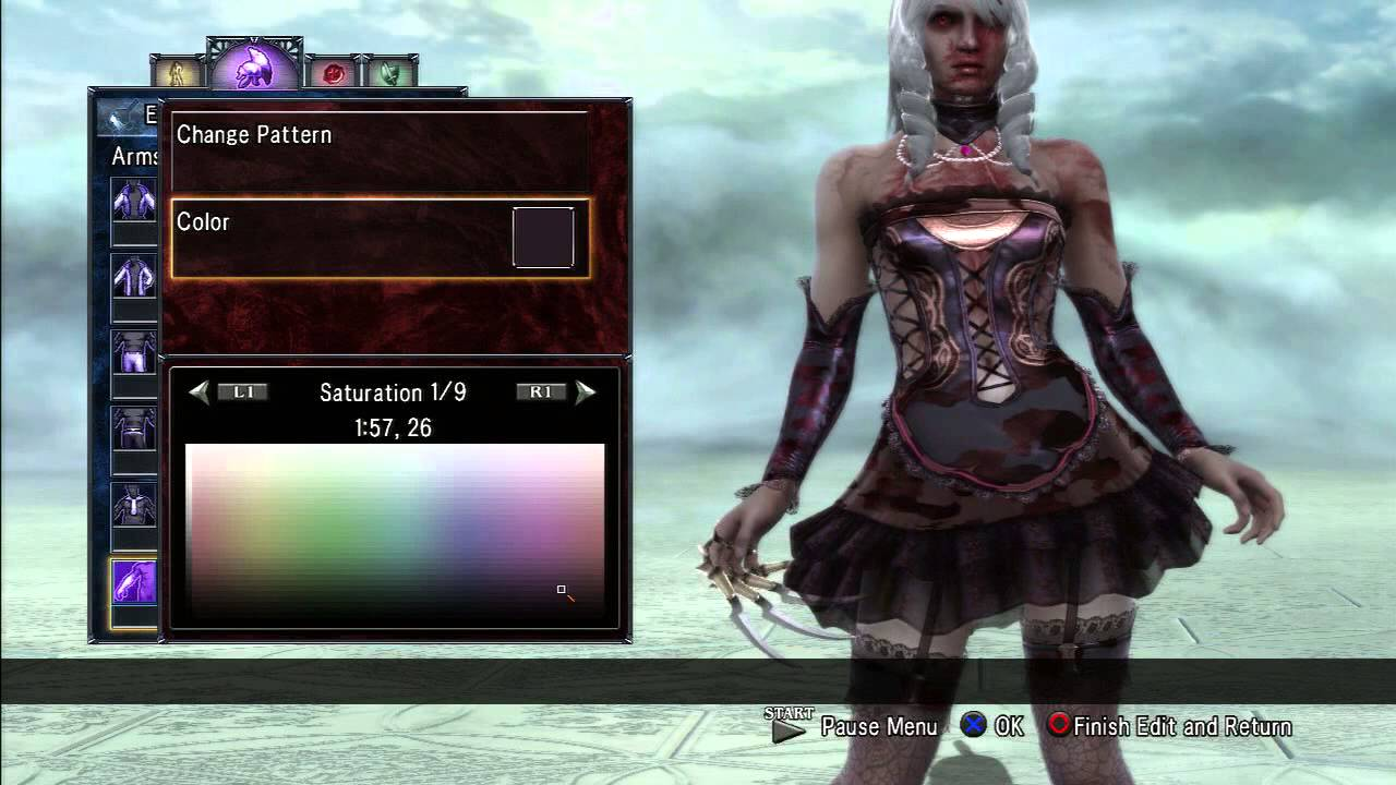 zombie style dress up xena