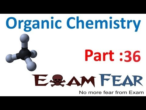 Chemistry Organic Basics part 36 (Nucleophilic Substitution reaction SN1, SN2) CBSE class 11