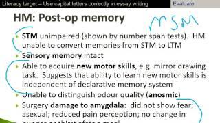 cognitive psychology case studies