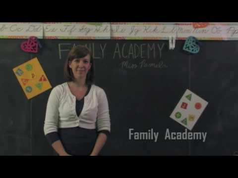 The Gift of A Favorite Book: A Family Academy Video