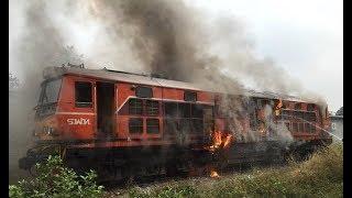 Crazy Cold Start Diesel Locomotive Engines and Sound
