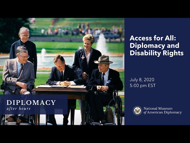 Diplomacy After Hours: Access for All: Diplomacy and Disability Rights