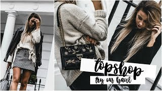 I Spent £400 In Topshop | Try-On Haul: Autumn/Winter | Copper Garden