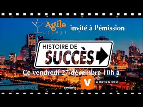 Invité à Histoire de Succès et Upcoming Agile Podcast 2020