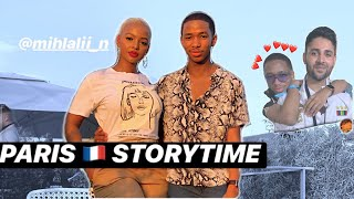 paris for the first time featuting Mihlali N and MrWhoseTheBoss | Storytime - Lasizwe