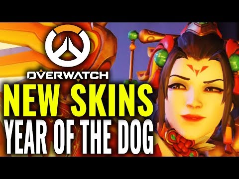 Overwatch Year of the Dog Skins & Cosmetics