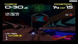 Wipeout 64 (Nintendo 64) Gameplay (HD)