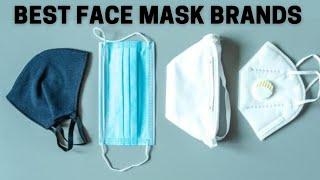 Best Face Mask Brands to Protect Against COVID 19 क र न स बच न व ल ब स ट फ स म स क ब र ड स