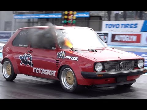 XQmotorsport 9 Second Diesel Mk1 VW Golf