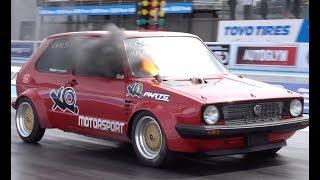 XQmotorsport 9 Second Diesel Mk1 VW Golf