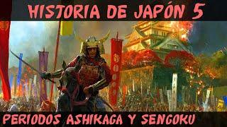 JAPÓN 5: JAPÓN FEUDAL - Periodo Ashikaga y Sengoku (Documental Historia resumen)