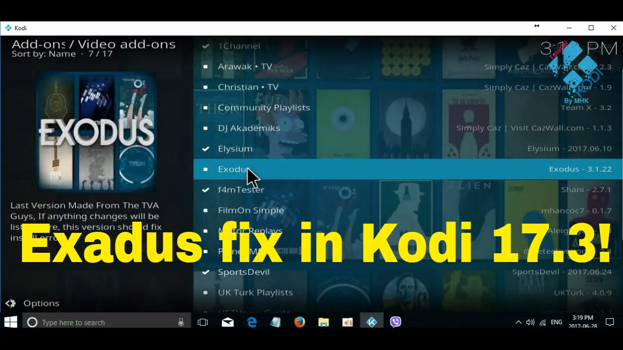 how to get kodi on pc 2017