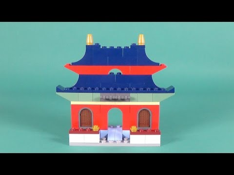 "Lego Oriental House Building Instructions - Lego Classic 10702 ""How To"""