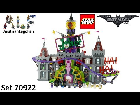 Lego Batman Movie 70922 The Joker Manor - Lego Speed Build Review