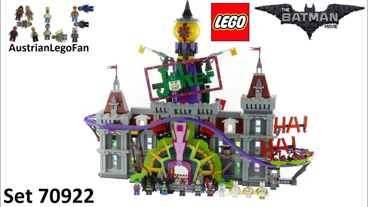 lego batman movie 70922 the joker manor lego speed build. Black Bedroom Furniture Sets. Home Design Ideas