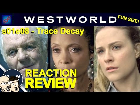 """Westworld s01e08 """"Trace Decay"""" Fun Size! Reaction, Review & Discussion"""
