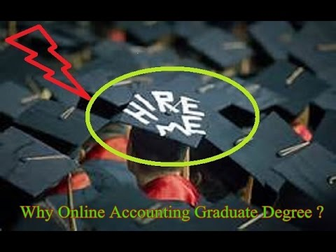 Online Accounting Graduate Degree