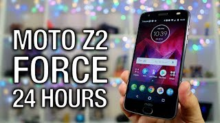 Moto Z2 Force  The First 24 Hours