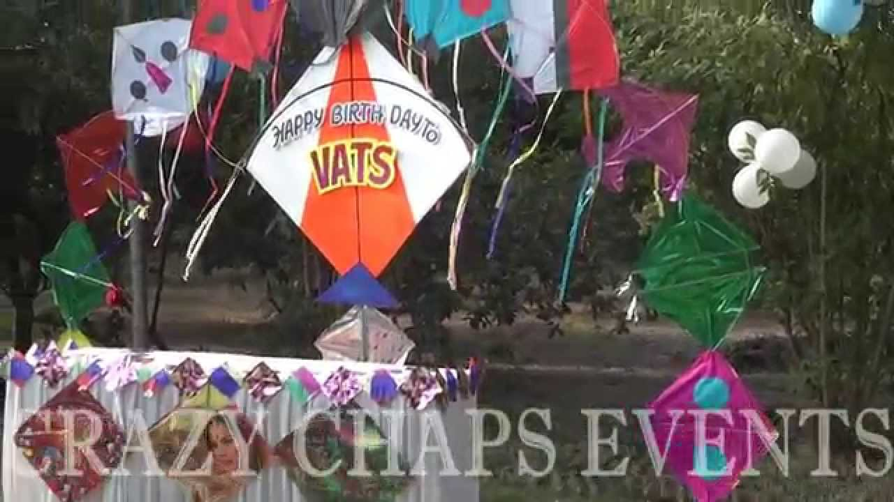 Kite theme decoration by crazy chaps events 9826181112 for Decoration kite