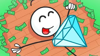 Henry Stickmin STEALS A DIAMOND!