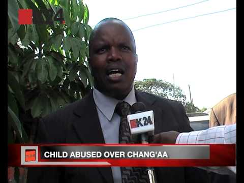 Chang'aa brewing leads to child abuse