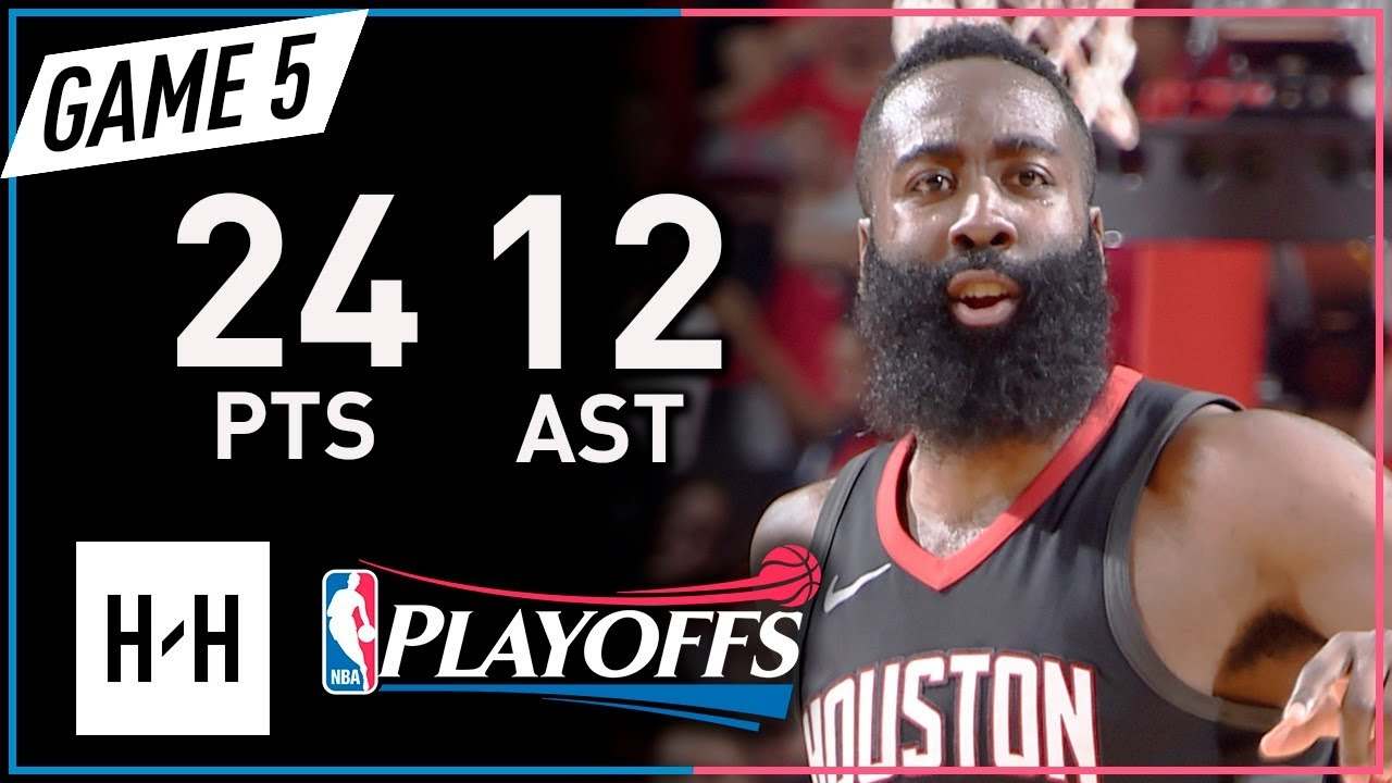 e3358d751e3e James Harden Full Game 5 Highlights Rockets vs Timberwolves 2018 Playoffs -  24 Pts