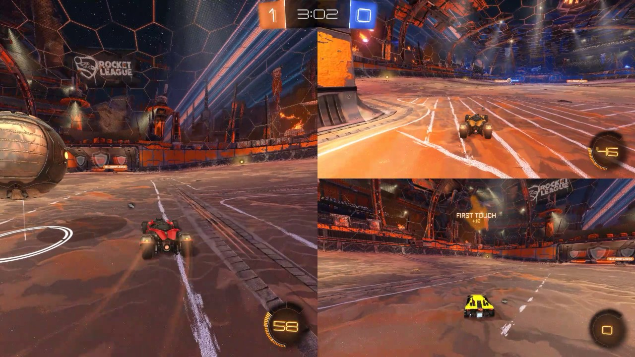 Renegade ops dynamic split screen