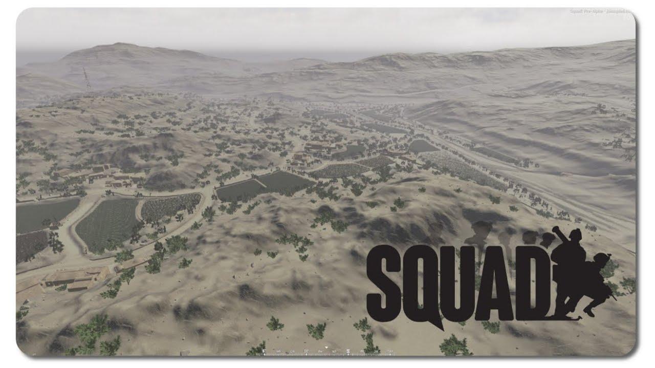 SQUAD Kohat New WIP Map YouTube - Kohat map