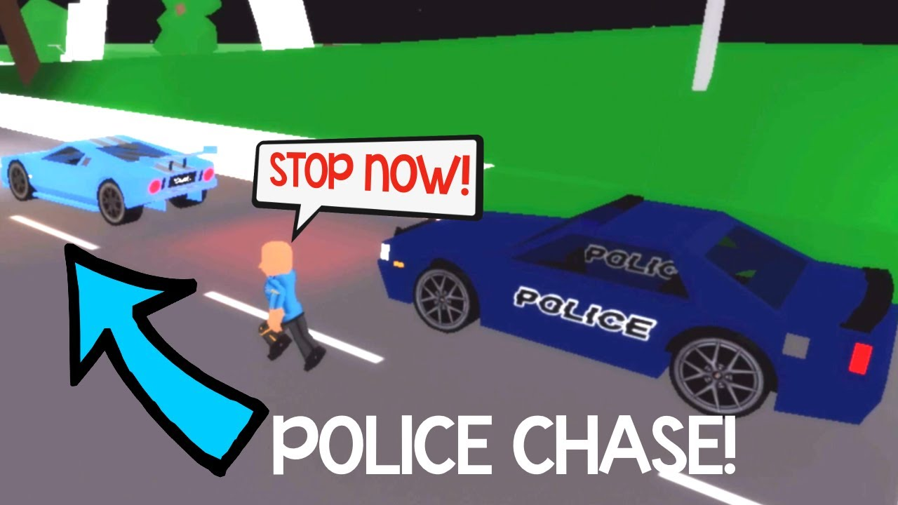 HUGE LAMBORGHINI POLICE CHASE in BROOKHAVEN (ROBLOX BROOKHAVEN RP