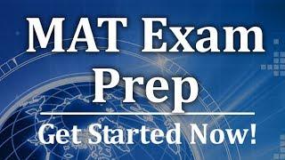 MAT Exam Prep - Free Trap of Familiarity