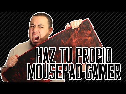 Haz tu propio mousepad gamer
