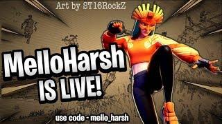 Fortnite india en direct Cadeau à 2K Abonnés!! Soutien -Mello-harsh Route à2ksubscribers