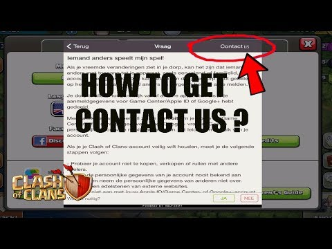 "(HINDI) CONTACT US"" BUTTON REMOVED FROM CLASH OF CLANSHOW CAN YOU CONTACT NOW ?"